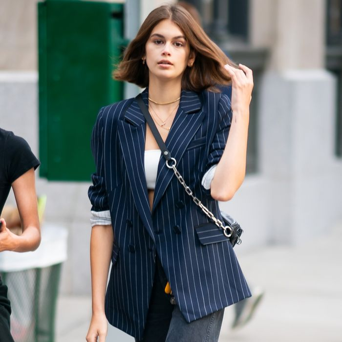 4 Super Simple Kaia Gerber Outfits to Copy RN