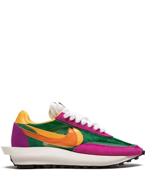 colored sneakers trend