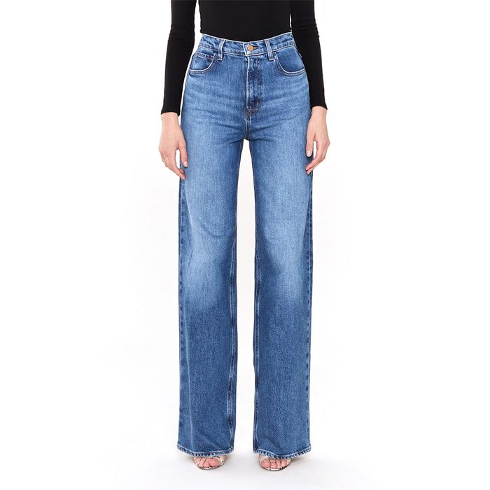 J Brand Monday High Rise Wide Leg Jeans