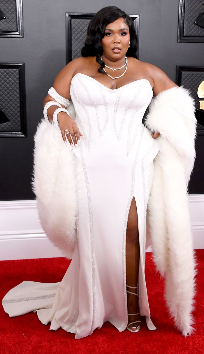 Lizzo Grammy Awards 2020 red carpet