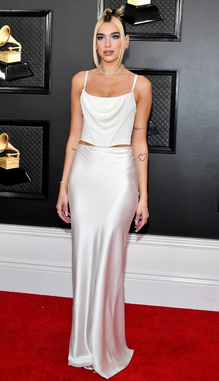 Dua Lipa 2020 Grammys red carpet