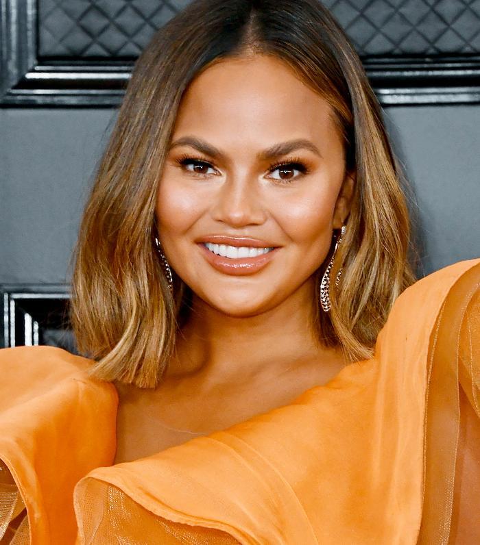 Grammy Awards 2020 Beauty: Chrissy Teigen