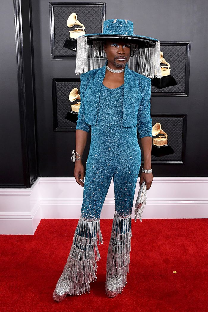 Billy Porter Grammys red carpet