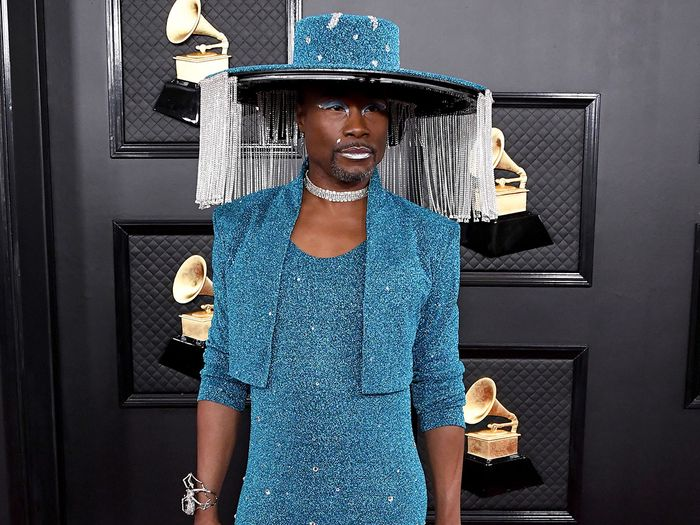 Billy Porter Slayed the Grammys in 70,000 Crystals and a Remote-Controlled Hat