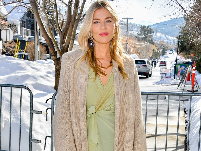 Sienna Miller Just Found the Coolest Coat in Mango—and It's Still In Stock
