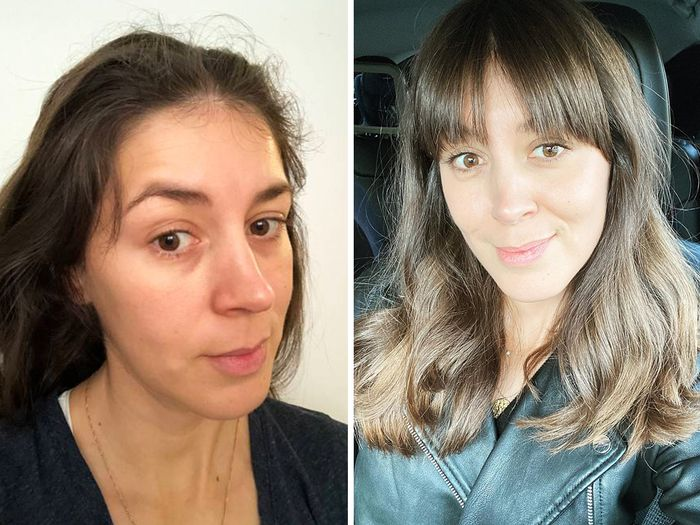 9 Postpartum Hair Tips For Thin Dry And Frizzy Hair Who What Wear