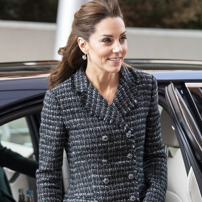 Kate Middleton Wore the Designer Version of Everyone's Favorite Grandma Trend