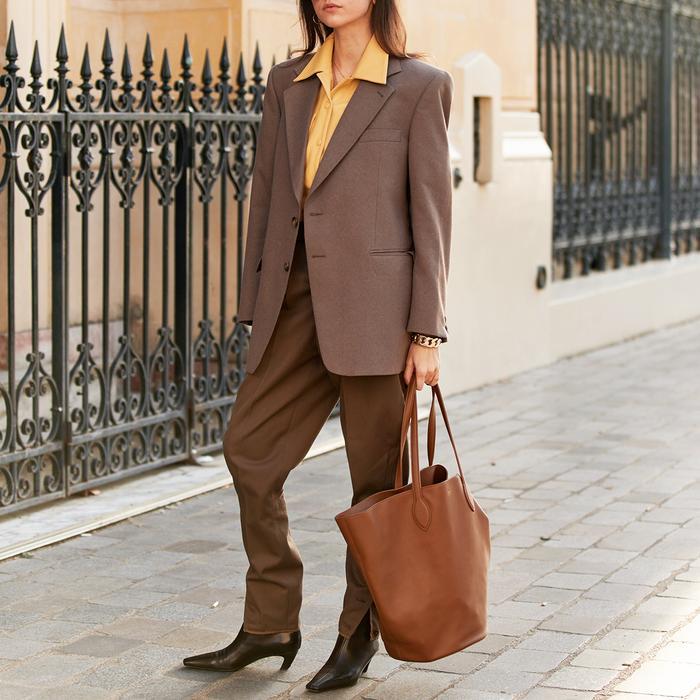 Paris Street Style Khaite Bag