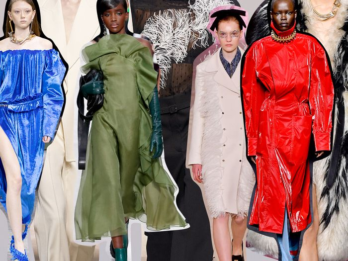 The 6 Best Trends At Fall Winter Paris Fashion Week 2020 Who What Wear