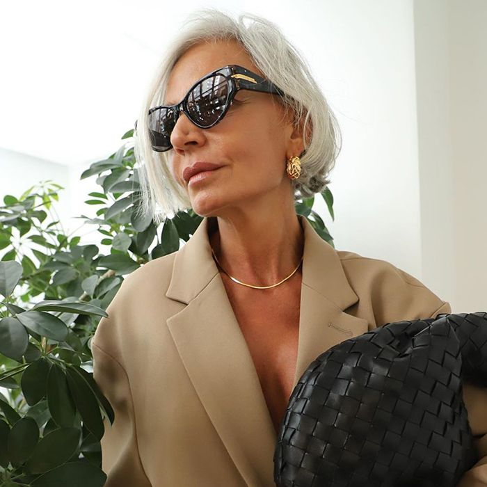 16 Women That Prove It's Seriously Chic to Let Your Hair Go Grey Naturally