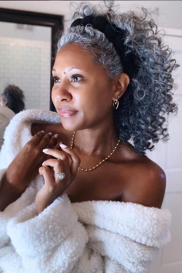 Grey Hair Women: Tennille Murphy
