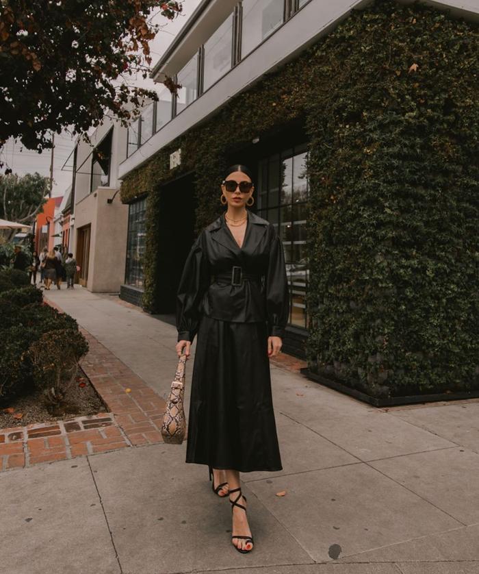 Leather Blazer Street Style Instagram