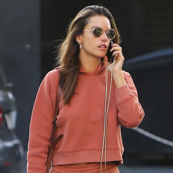 Alessandra Ambrosio's $170 Outfit Is a Good Reason to Skip Leggings