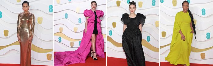 Margot! Zoe! Kate! Every Red Carpet Look You Need to See From the BAFTAs