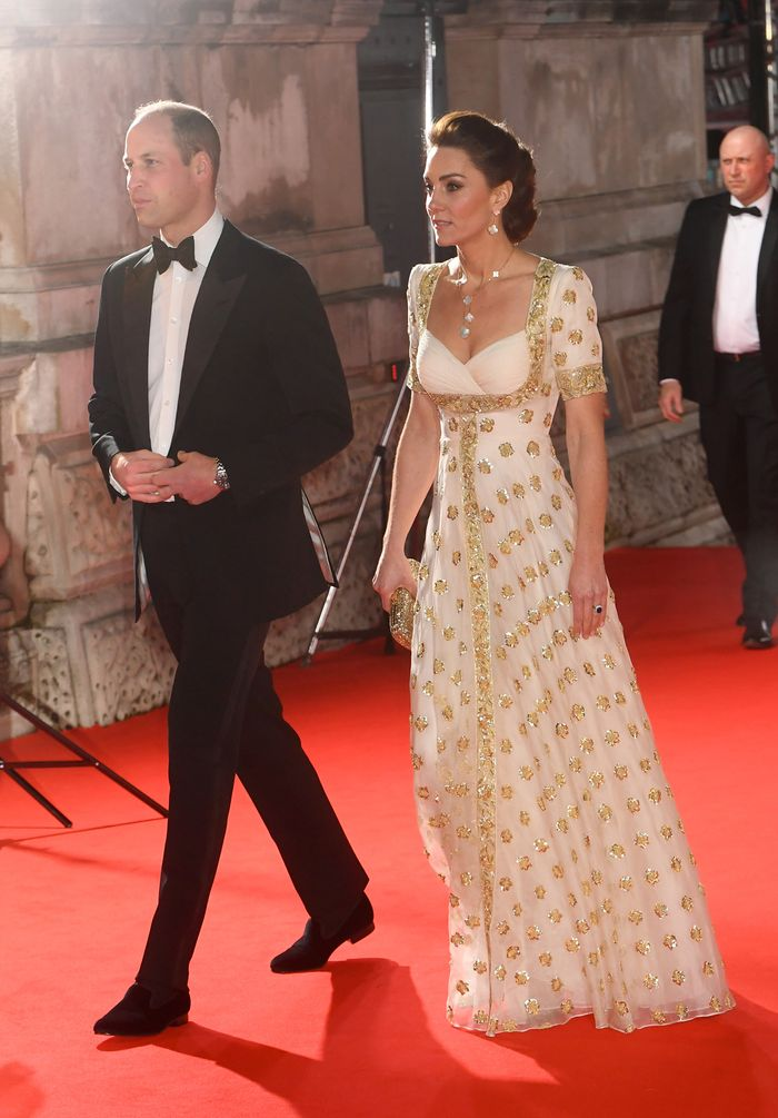 Kate Middleton BAFTAs Red Carpet: Alexander McQueen Gown