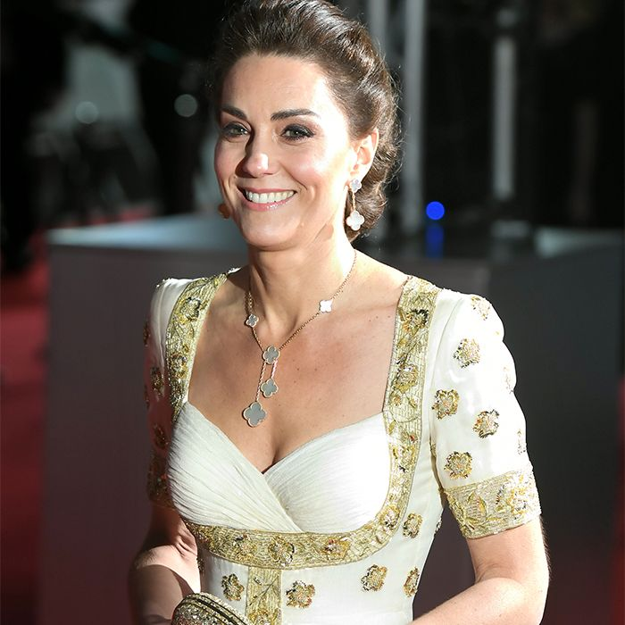 Kate Middleton Walked the BAFTAs Red Carpet In a Very Familiar Gown