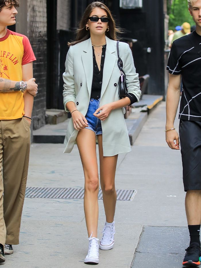 Kaia Gerber Wears Converse All Stars Almost Every Day | Who