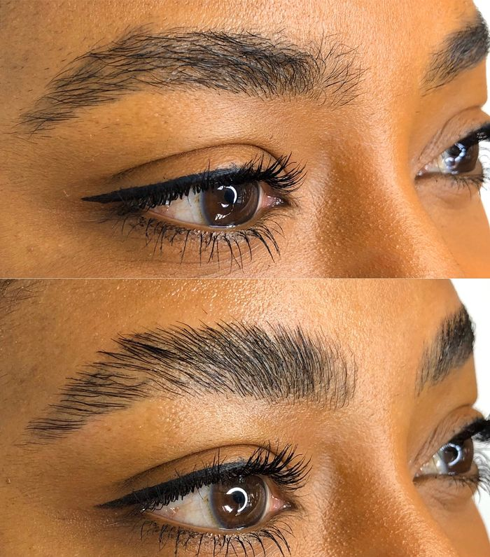 An Honest Review Of Eyebrow Lamination And What It Is Who What Wear