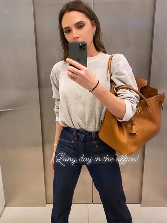 Victoria Beckham Style: Patch Pocket Jeans