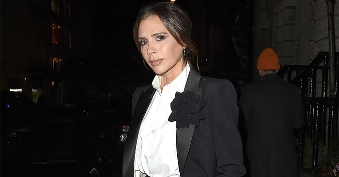 This Is the One Denim Trend Victoria Beckham Is Championing for Spring