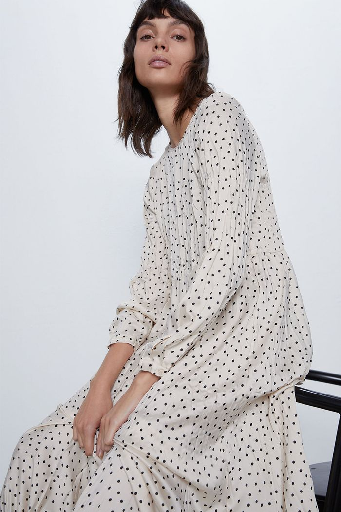 Zara Spotty Dress: Spring 2020 Dress Trends
