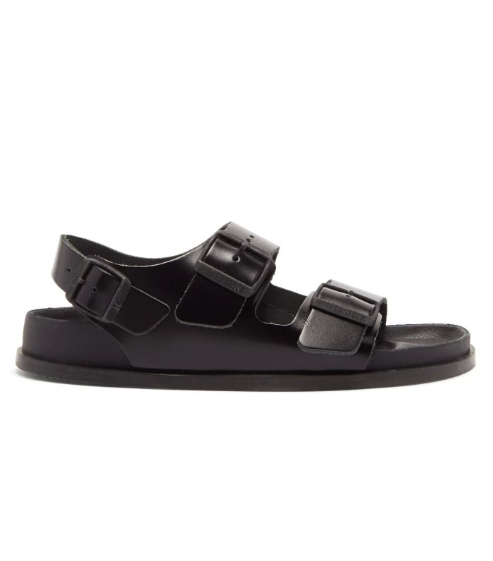 Birkenstock 1774 Milano Avantgarde Ankle-Strap Leather Sandals