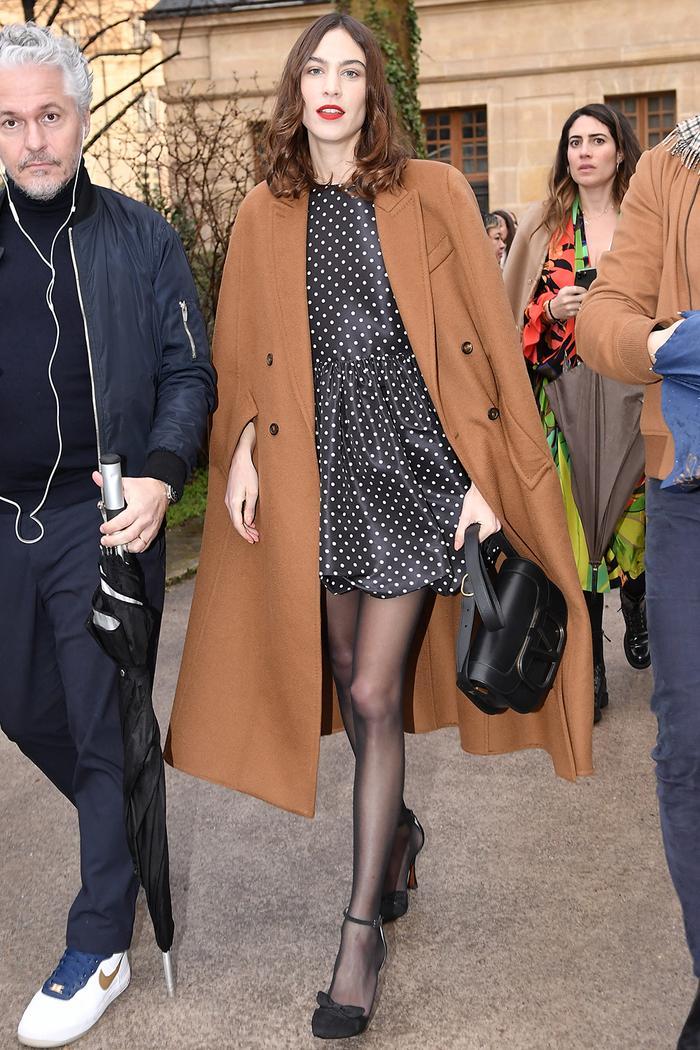 Alexa Chung: Paris Fashion Week