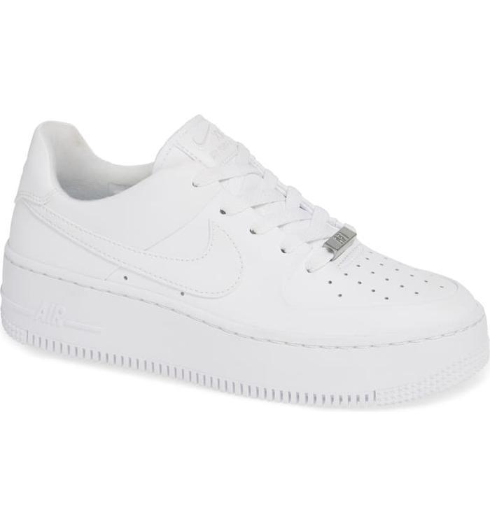 Nike Air Force 1 Sage Low Beige Shoes Sport Stylist