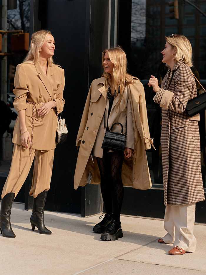 NYFW Street Style: Beige Colour Trend