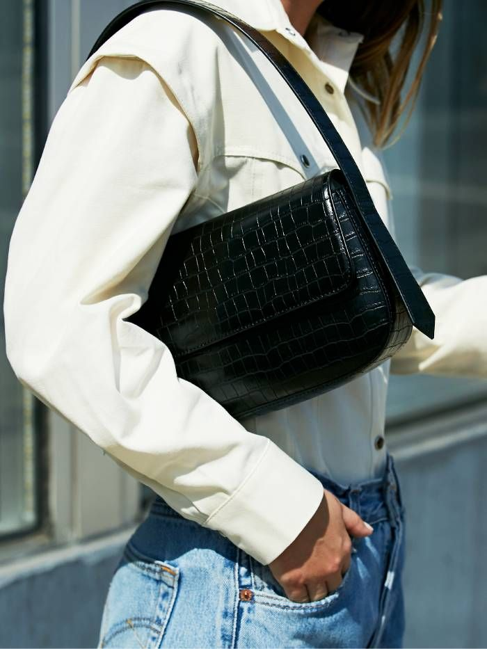 Who What Wear Collection Launch: Black Shoulder Bag