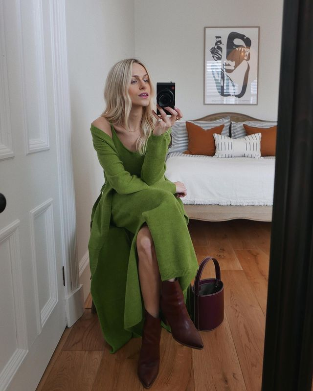 How to Style a Dress in Spring: @joannalari