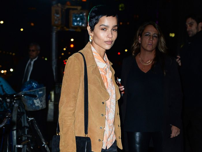 Zoë Kravitz Wore Skinny Jeans and This Flats Trend on the Red Carpet