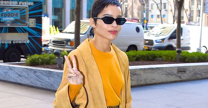 Only Zoë Kravitz Could Convince Me to Try This Footwear Trend