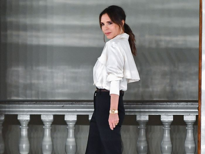 Victoria and Harper Beckham Just Wore the Ultimate London Outfits