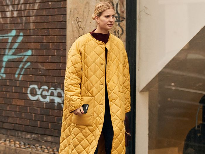 The Coat Trend That's Taking Over London Fashion Week