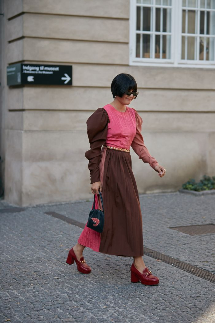 Spring 2020 Street Style Heeled Loafers