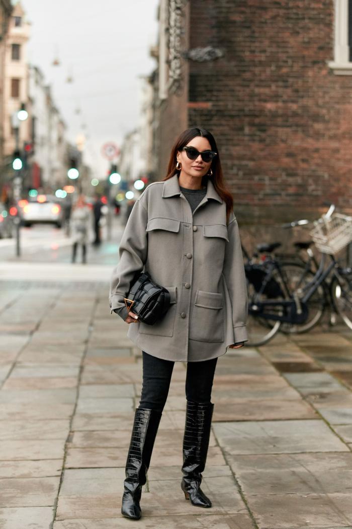 Leggings Street Style: @thestylestalkercom