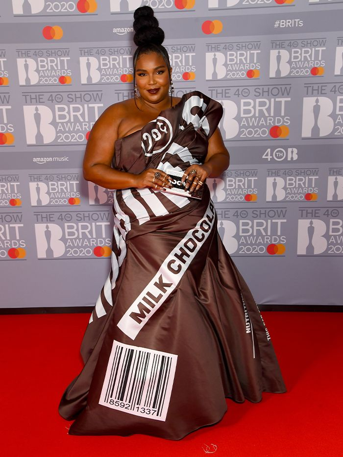 2020 Brits Awards Red Carpet: Lizzo