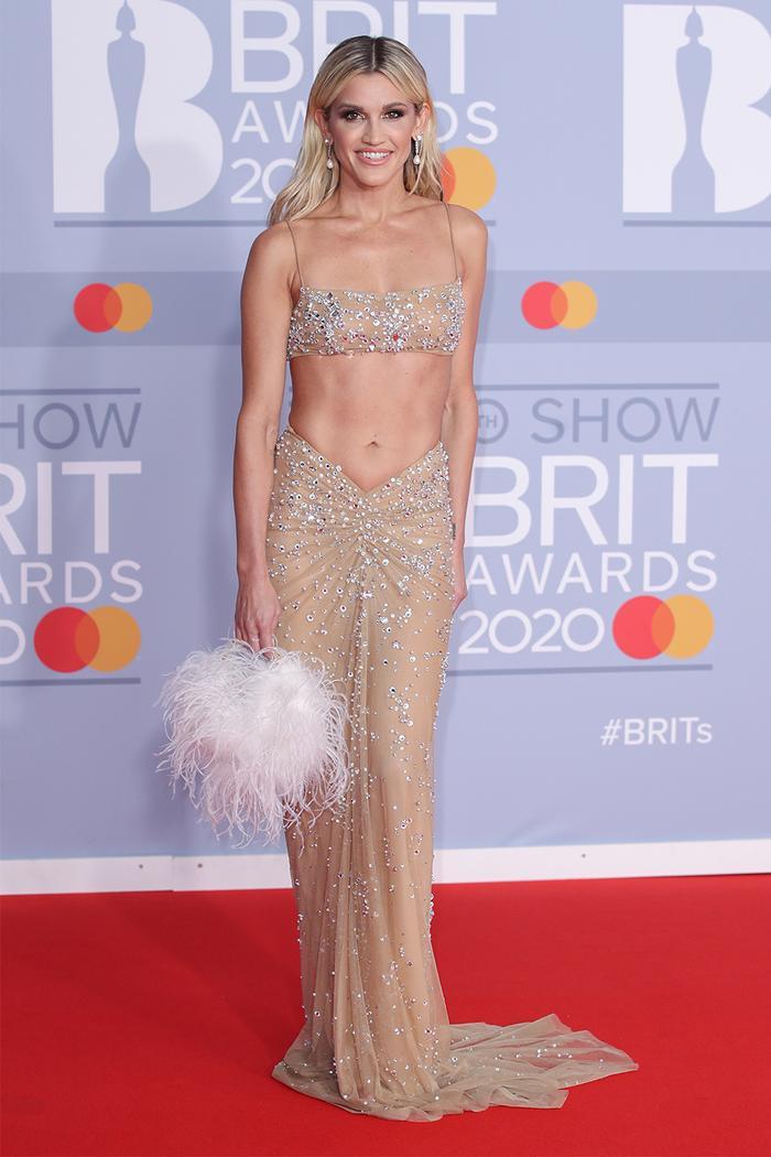 2020 Brits Awards Red Carpet: Ashley Roberts