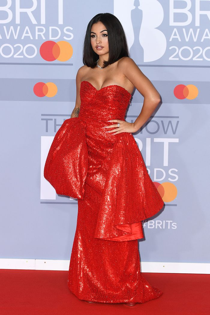 2020 Brits Awards Red Carpet: Mabel