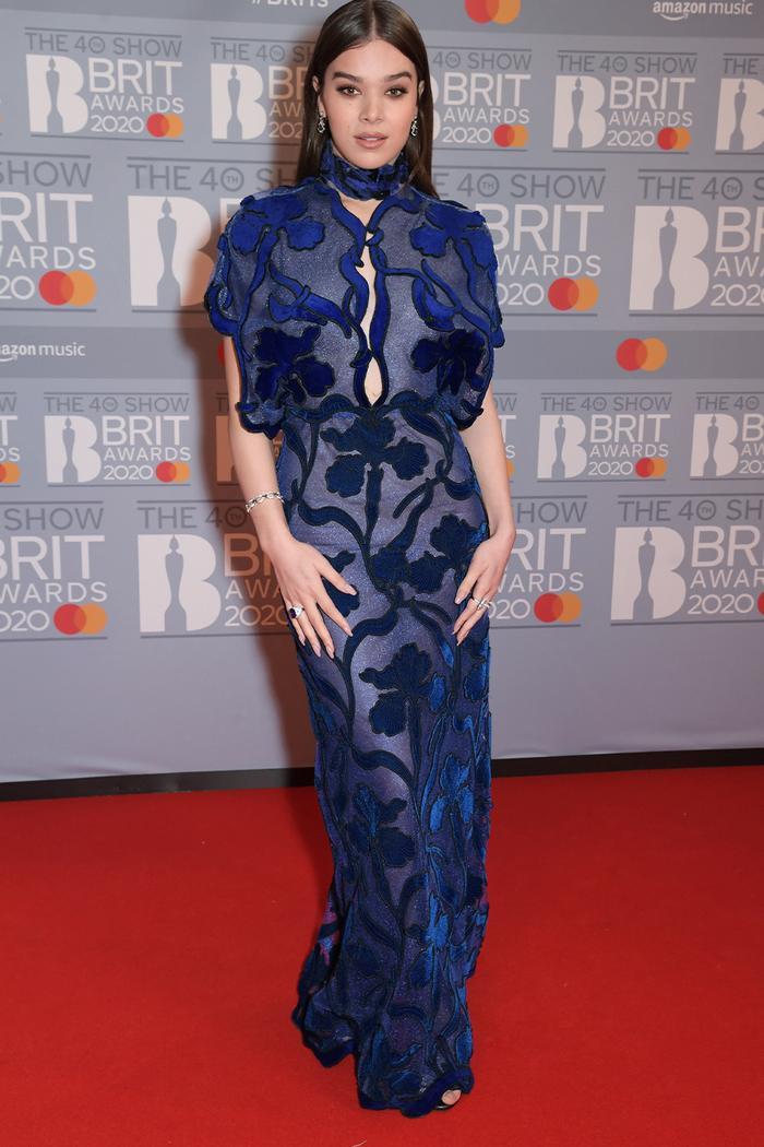 2020 Brits Awards Red Carpet: Hailee Steinfeld