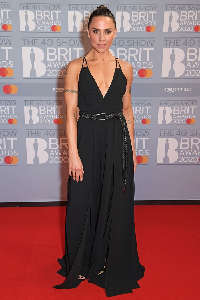 2020 Brits Awards Red Carpet: Melanie C