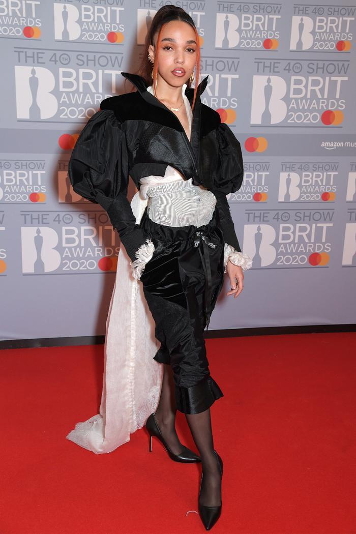 2020 Brits Awards Red Carpet: FKA twigs