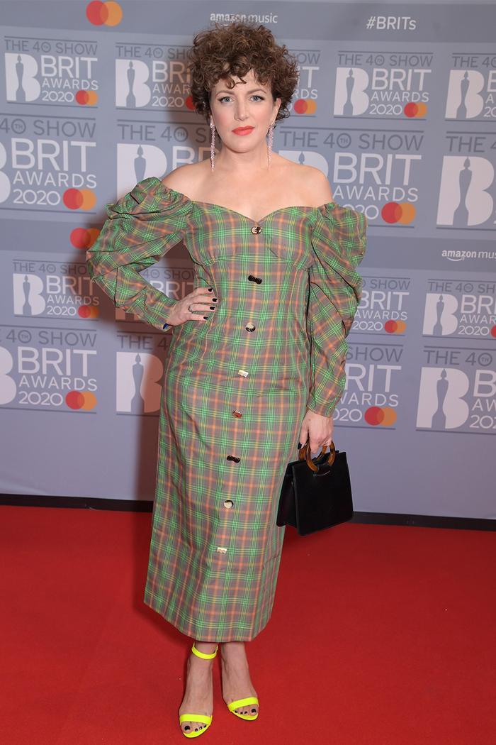 2020 Brits Awards Red Carpet: Annie Mac
