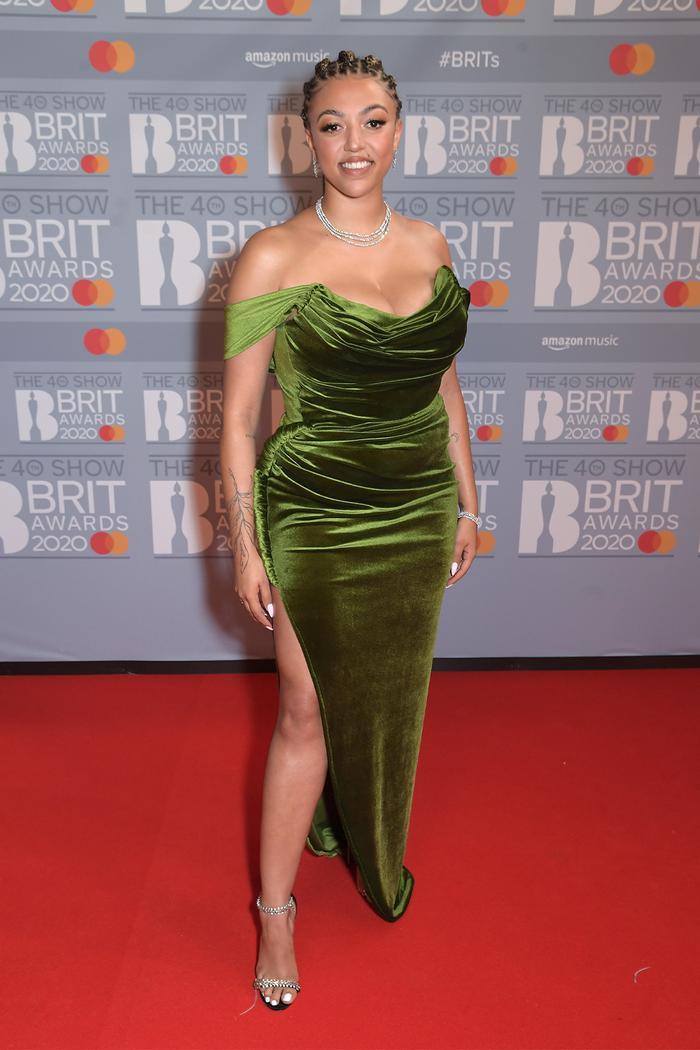 2020 Brits Awards Red Carpet: Mahalia