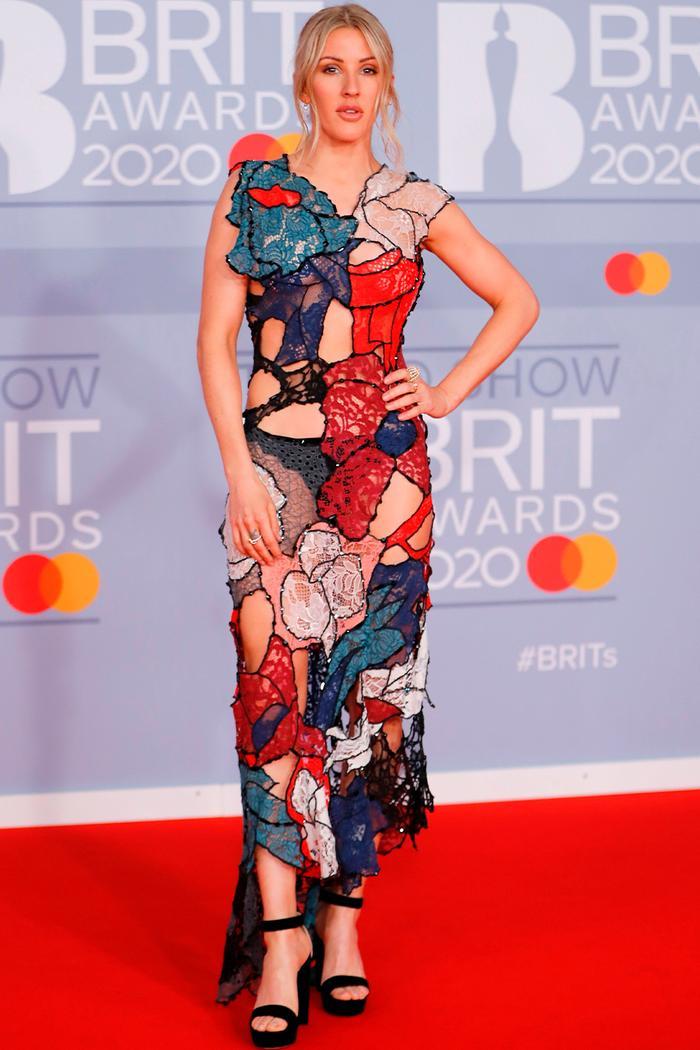 2020 Brits Awards Red Carpet: Ellie Goulding