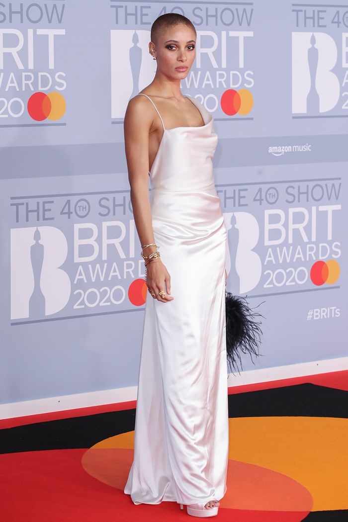 2020 Brits Awards Red Carpet: Adwoa Aboah