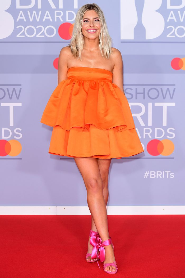 2020 Brits Awards Red Carpet: Mollie King