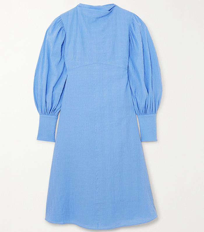 By Malene Birger + Net Sustain Fleroya Crinkled-Organic Cotton Dress