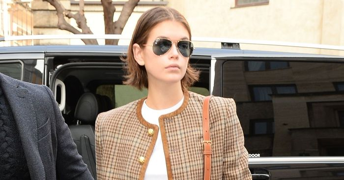 Kaia Gerber Wore the Trendy Staple That Looks A+ With Jeans and Ankle Boots